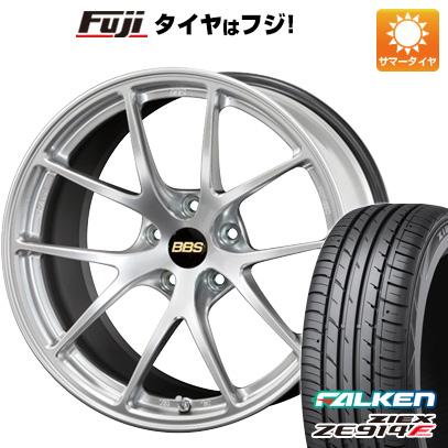 素晴らしい品質 タイヤはフジ 送料無料 BBS JAPAN BBS RI-A 8J 8.00-18 FALKEN ジークス ZE914F 235/40R18 18インチ サマータイヤ ホイール4本セット, Vie Shop 14c35c8b