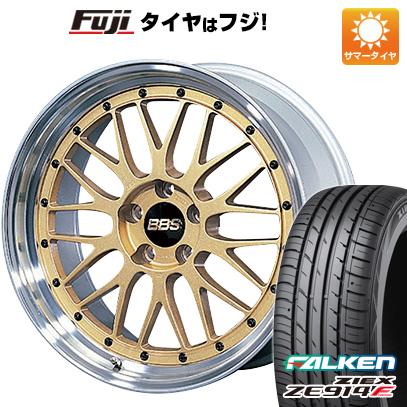 【取付対象】 【送料無料】 215/40R18 18インチ BBS JAPAN BBS LM 7.5J 7.50-18 FALKEN ファルケン ジークス ZE914F サマータイヤ ホイール4本セット