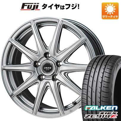 タイヤはフジ 送料無料 フリード 5穴/114 MONZA モンツァ ZACK JP-710 6J 6.00-15 FALKEN ジークス ZE914F 185/65R15 15インチ サマータイヤ ホイール4本セット