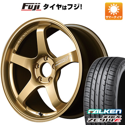 人気 タイヤはフジ 送料無料 YOKOHAMA ヨコハマ アドバンレーシング GT プレミアムバージョン 8.5J 8.50-18 FALKEN ジークス ZE914F 235/40R18 18インチ サマータイヤ ホイール4本セット, Tuuli 9a468e67