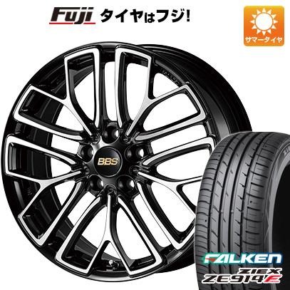 タイヤはフジ 送料無料 BBS JAPAN BBS RE-X 8.5J 8.50-18 FALKEN ジークス ZE914F 235/50R18 18インチ サマータイヤ ホイール4本セット