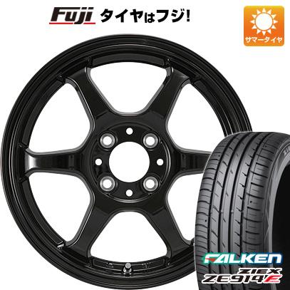 タイヤはフジ 送料無料 カジュアルセット タイプL 2. 5J 5.00-15 FALKEN ジークス ZE914F 165/55R15 15インチ サマータイヤ ホイール4本セット
