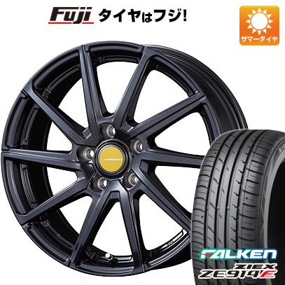 タイヤはフジ 送料無料 KOSEI コーセイ エアベルグ ローレン 7.5J 7.50-18 FALKEN ジークス ZE914F 215/45R18 18インチ サマータイヤ ホイール4本セット