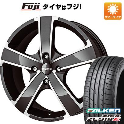 タイヤはフジ 送料無料 MOMO モモ ウィンプロEVO 6J 6.00-15 FALKEN ジークス ZE914F 175/65R15 15インチ サマータイヤ ホイール4本セット