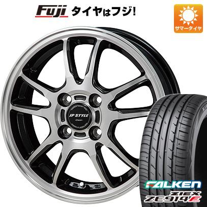 タイヤはフジ 送料無料 MONZA モンツァ JPスタイルクレーヴァー 5.5J 5.50-15 FALKEN ジークス ZE914F 185/60R15 15インチ サマータイヤ ホイール4本セット
