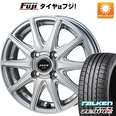 タイヤはフジ 送料無料 MONZA モンツァ ZACK JP-710 5.5J 5.50-15 FALKEN ジークス ZE914F 185/65R15 15インチ サマータイヤ ホイール4本セット