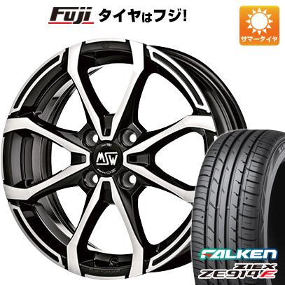 タイヤはフジ 送料無料 MSW by OZ Racing MSW X4 6J 6.00-16 FALKEN ジークス ZE914F 195/45R16 16インチ サマータイヤ ホイール4本セット