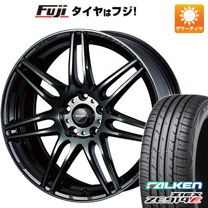 タイヤはフジ 送料無料 WEDS ウェッズスポーツ SA-77R 7.5J 7.50-18 FALKEN ジークス ZE914F 215/40R18 18インチ サマータイヤ ホイール4本セット