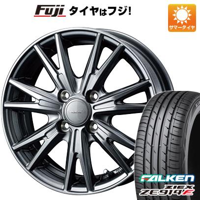 タイヤはフジ 送料無料 WEDS ウェッズ ヴェルバ ケヴィン 5.5J 5.50-15 FALKEN ジークス ZE914F 185/65R15 15インチ サマータイヤ ホイール4本セット