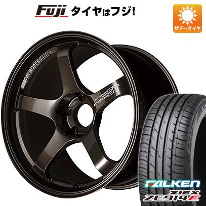 【送料無料】 235/40R18 18インチ YOKOHAMA ヨコハマ アドバンレーシング GT プレミアムバージョン 8J 8.00-18 FALKEN ファルケン ジークス ZE914F サマータイヤ ホイール4本セット
