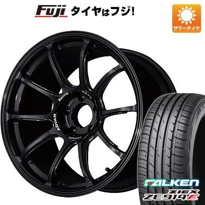 最新入荷 タイヤはフジ 送料無料 YOKOHAMA ヨコハマ アドバンレーシング RZーF2 7.5J 7.50-18 FALKEN ジークス ZE914F 225/40R18 18インチ サマータイヤ ホイール4本セット, iDANCESTADIUM 223716e1