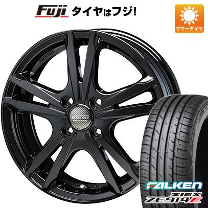 タイヤはフジ 送料無料 BLEST ブレスト バーンズテック ジゼリスFV 5.5J 5.50-15 FALKEN ジークス ZE914F 185/60R15 15インチ サマータイヤ ホイール4本セット