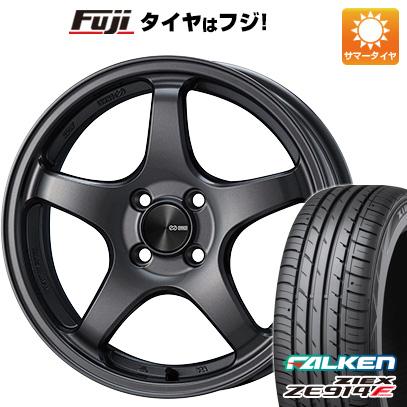 タイヤはフジ 送料無料 ENKEI エンケイ PF05 7J 7.00-17 FALKEN ジークス ZE914F 205/40R17 17インチ サマータイヤ ホイール4本セット