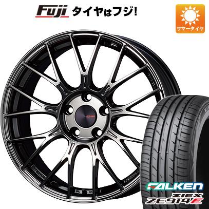 【送料無料】 225/55R18 18インチ ENKEI エンケイ PFM1 Limited 8J 8.00-18 FALKEN ファルケン ジークス ZE914F サマータイヤ ホイール4本セット