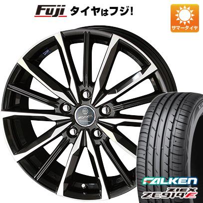 タイヤはフジ 送料無料 KYOHO 共豊 スマック プライム ヴァルキリー 6.5J 6.50-16 FALKEN ジークス ZE914F 195/50R16 16インチ サマータイヤ ホイール4本セット
