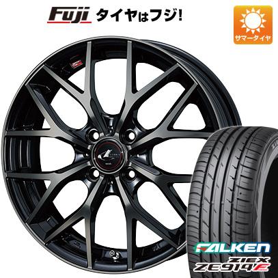 タイヤはフジ 送料無料 WEDS ウェッズ レオニス MX 5.5J 5.50-15 FALKEN ジークス ZE914F 185/65R15 15インチ サマータイヤ ホイール4本セット