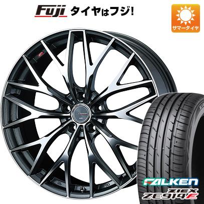 タイヤはフジ 送料無料 WEDS ウェッズ レオニス MX 6.5J 6.50-17 FALKEN ジークス ZE914F 205/40R17 17インチ サマータイヤ ホイール4本セット