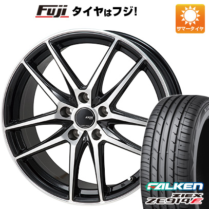 タイヤはフジ 送料無料 シエンタ 5穴/100 MONZA モンツァ JPスタイル グリッド 6J 6.00-15 FALKEN ジークス ZE914F 185/60R15 15インチ サマータイヤ ホイール4本セット