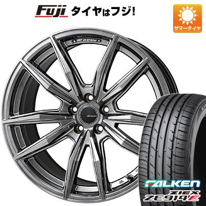 タイヤはフジ 送料無料 MONZA モンツァ Rバージョンブロッカー 5.5J 5.50-15 FALKEN ジークス ZE914F 175/65R15 15インチ サマータイヤ ホイール4本セット