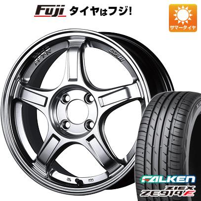 タイヤはフジ 送料無料 SSR GTX03 7J 7.00-17 FALKEN ジークス ZE914F 205/40R17 17インチ サマータイヤ ホイール4本セット
