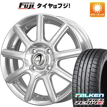 タイヤはフジ 送料無料 TECHNOPIA テクノピア アルテミス NS9 4.5J 4.50-15 FALKEN ジークス ZE914F 165/55R15 15インチ サマータイヤ ホイール4本セット