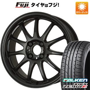 タイヤはフジ 送料無料 WORK ワーク エモーション 11R 5J 5.00-15 FALKEN ジークス ZE914F 165/50R15 15インチ サマータイヤ ホイール4本セット