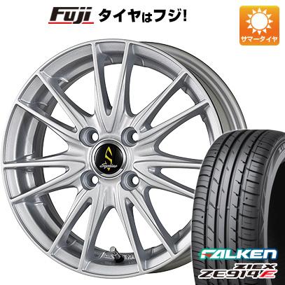 タイヤはフジ 送料無料 WORK ワーク セプティモ G02 シルバーメタリック 6J 6.00-16 FALKEN ジークス ZE914F 195/50R16 16インチ サマータイヤ ホイール4本セット