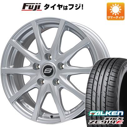 タイヤはフジ 送料無料 BRANDLE ブランドル M71 7.5J 7.50-18 FALKEN ジークス ZE914F 225/40R18 18インチ サマータイヤ ホイール4本セット