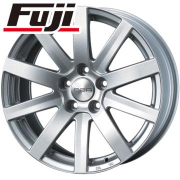 タイヤはフジ 送料無料 AGA S-10 8J 8.00-17 PIRELLI ドラゴンスポーツ 245/45R17 17インチ サマータイヤ ホイール4本セット 輸入車