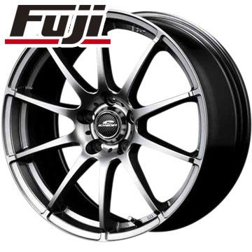 タイヤはフジ 送料無料 MID シュナイダー スタッグ 7J 7.00-17 YOKOHAMA アドバン フレバV701 205/45R17 17インチ サマータイヤ ホイール4本セット
