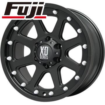 【送料無料】 285/60R18 18インチ KMC XDシリーズ XD798 アディクト 9J 9.00-18 YOKOHAMA ヨコハマ ジオランダー A/T G015 RBL サマータイヤ ホイール4本セット