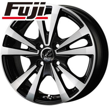 タイヤはフジ 送料無料 KOSEI コーセイ プラウザー リンクス 4.5J 4.50-14 FALKEN ジークス ZE912 155/55R14 14インチ サマータイヤ ホイール4本セット