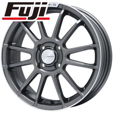 タイヤはフジ 送料無料 LEHRMEISTER LM-S トスカーナ6 (マットグラファイト/リムポリッシュ) 6.5J 6.50-16 YOKOHAMA ブルーアース A(AE50) 185/60R16 16インチ サマータイヤ ホイール4本セット