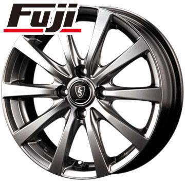 7/25はエントリーでポイント15倍 タイヤはフジ 送料無料 MID ユーロスピード G10 4J 4.00-12 YOKOHAMA RY52 6PR 145/80R12 145R12 12インチ サマータイヤ ホイール4本セット