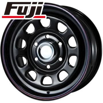 タイヤはフジ 送料無料 NV350キャラバン MLJ デイトナSS 6J 6.00-15 YOKOHAMA ジオランダー H/T G056 195/80R15 15インチ サマータイヤ ホイール4本セット