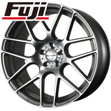 タイヤはフジ 送料無料 MLJ ハイペリオン CVM 8.5J 8.50-20 FALKEN アゼニス FK453 225/35R20 20インチ サマータイヤ ホイール4本セット