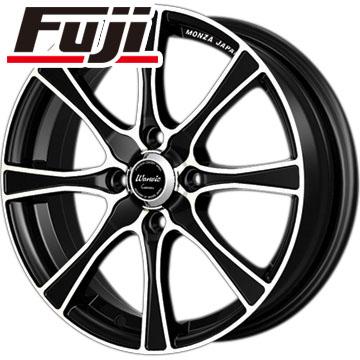 タイヤはフジ 送料無料 MONZA モンツァ ワーウィック カロッツァ 6J 6.00-15 FALKEN ジークス ZE914F 195/50R15 15インチ サマータイヤ ホイール4本セット