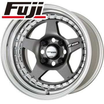タイヤはフジ 送料無料 WORK ワーク マイスター CR01 6.5J 6.50-15 YOKOHAMA ブルーアース RV-02CK 185/65R15 15インチ サマータイヤ ホイール4本セット