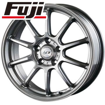 タイヤはフジ 送料無料 INTER MILANO インターミラノ LCZ 010 7J 7.00-18 NITTO NT555 G2 215/45R18 18インチ サマータイヤ ホイール4本セット