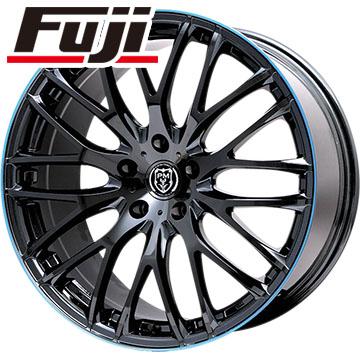 タイヤはフジ 送料無料 PREMIX プレミックス グラッパ(ブラックパール/ブルークリア) 7.5J 7.50-19 YOKOHAMA ブルーアース A(AE50) 215/35R19 19インチ サマータイヤ ホイール4本セット