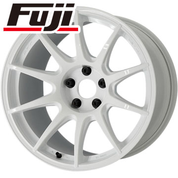 タイヤはフジ 送料無料 WORK ワーク M.C.O RACING タイプCS F:8.50-18 R:9.50-18 YOKOHAMA DNA エコス F:225/40R18 R:255/35R18 サマータイヤ ホイール4本セット