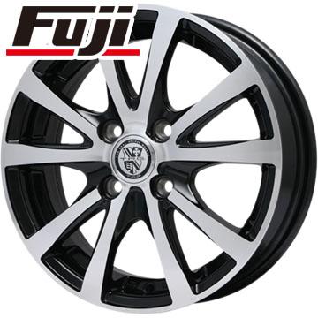 タイヤはフジ 送料無料 BIGWAY ビッグウェイ TRG バーン XP 4.5J 4.50-14 YOKOHAMA DNA Sドライブ 165/55R14 14インチ サマータイヤ ホイール4本セット