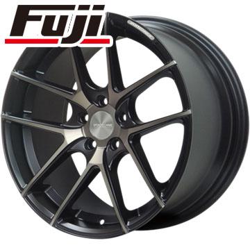 タイヤはフジ 送料無料 SPORT TECHNIC スポーツテクニック M-005 8.5J 8.50-19 FALKEN アゼニス FK453 225/45R19 19インチ サマータイヤ ホイール4本セット