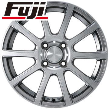 タイヤはフジ 送料無料 N-BOX タントカスタム ワゴンR カジュアルセット タイプB17 メタリックグレー 4.5J 4.50-14 YOKOHAMA ブルーアース AE-01 155/65R14 14インチ サマータイヤ ホイール4本セット