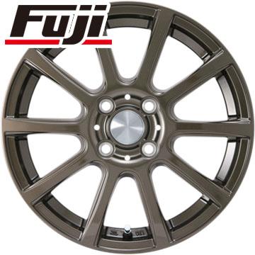 タイヤはフジ 送料無料 カジュアルセット タイプB17 ブロンズ 4J 4.00-13 YOKOHAMA ブルーアース AE-01 SALE 165/65R13 13インチ サマータイヤ ホイール4本セット