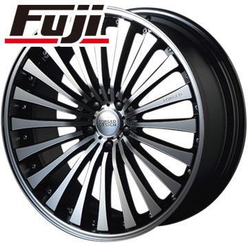 タイヤはフジ 送料無料 MZ SPEED エムズスピード FORGEDデザイン 666 8.5J 8.50-22 YOKOHAMA PARADA Spec-X 255/30R22 22インチ サマータイヤ ホイール4本セット
