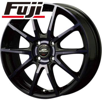 タイヤはフジ 送料無料 MID シュナイダー DR-01 4.5J 4.50-15 YOKOHAMA ブルーアース RV-02CK 165/55R15 15インチ サマータイヤ ホイール4本セット