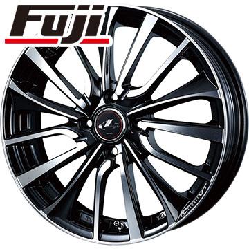 7/25はエントリーでポイント15倍 タイヤはフジ 送料無料 WEDS ウェッズ レオニス VT 6J 6.00-16 YOKOHAMA ブルーアース A(AE50) 185/60R16 16インチ サマータイヤ ホイール4本セット