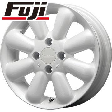 タイヤはフジ 送料無料 MLJ ハイペリオン ピノプラス 4.5J 4.50-14 MICHELIN エナジー セイバー 165/55R14 14インチ サマータイヤ ホイール4本セット