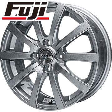 タイヤはフジ 送料無料 MONZA モンツァ ZACK JP-110 10スポーク 4.5J 4.50-15 BRIDGESTONE エコピア NH100 C 165/55R15 15インチ サマータイヤ ホイール4本セット
